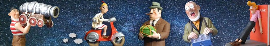Suske en Wiske beelden, puzzels en merchandise